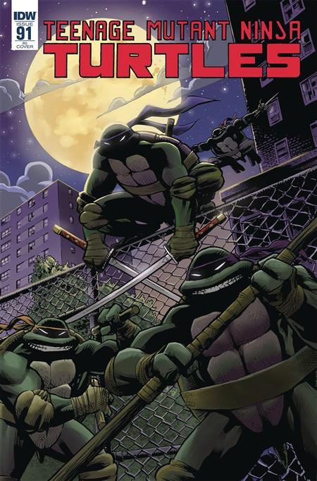 TMNT ONGOING #91 10 COPY INCV MOLINE (Net)