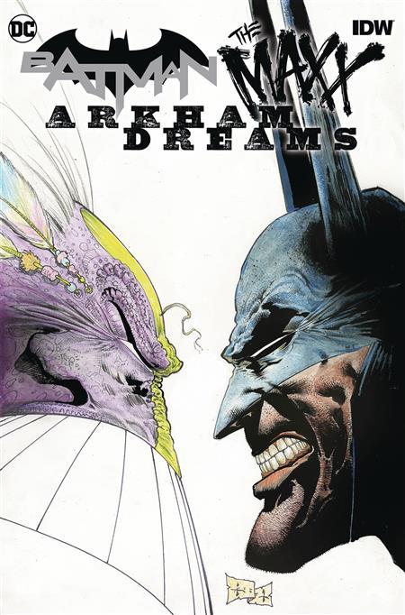 BATMAN THE MAXX ARKHAM DREAMS HC (C: 0-1-2)