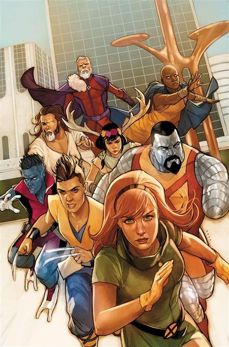 AGE OF X-MAN MARVELOUS X-MEN #1 (OF 5)