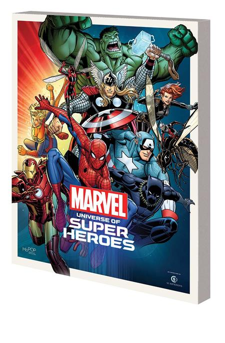 MARVEL UNIVERSE SUPER HEROES TP MUSEUM EXHIBIT GUIDE