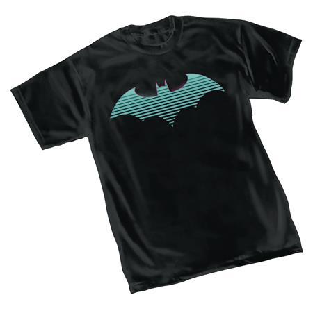 DC HEROES BATMAN NEON SYMBOL T/S LG (C: 1-1-0)
