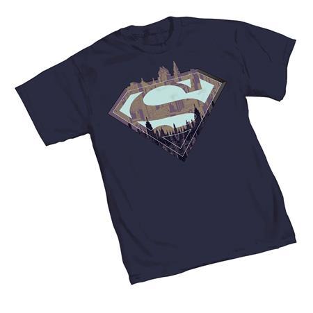 SUPERMAN CITY SYMBOL T/S LG (C: 1-1-2)