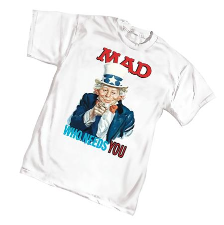 MAD NEEDS YOU T/S LG (C: 1-1-0)
