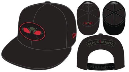 AQUAMAN MOVIE BLACK MANTA BLK/RED 9FIFTY SNAP BACK CAP (C: 1