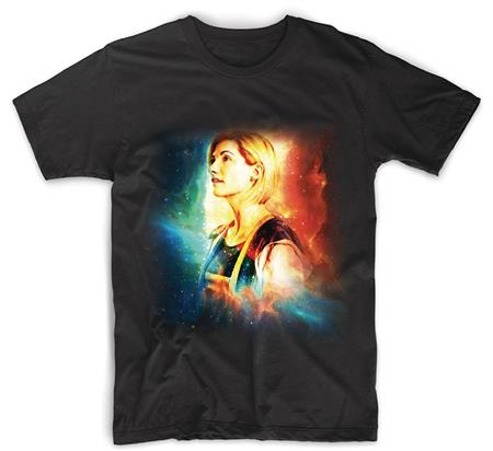 DOCTOR WHO 13TH DOCTOR GALAXY EFFECT LADIES T/S MED (C: 1-1-