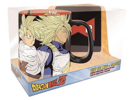 DRAGONBALL Z CELL GAMES MUG AND COASTER GIFT SET (C: 1-1-2)