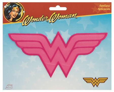 DC HEROES PINK WONDER WOMAN LOGO PATCH (C: 1-1-2)