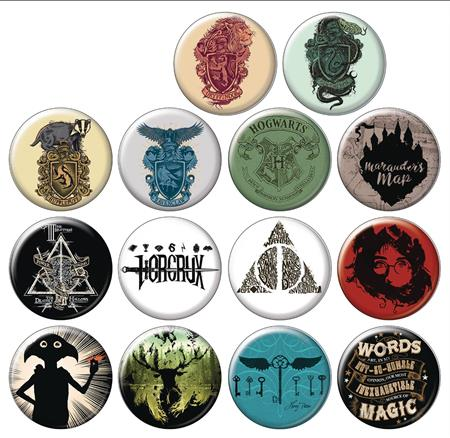 HARRY POTTER TOMES & SCROLLS 144PC BUTTON DIS (C: 1-1-1)