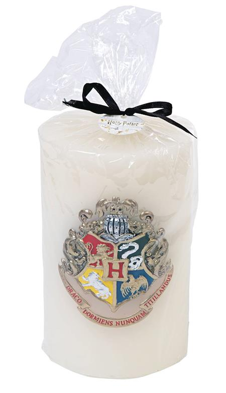 HARRY POTTER HOGWARTS SCULPTED INSIGNIA CANDLE (C: 1-1-2)