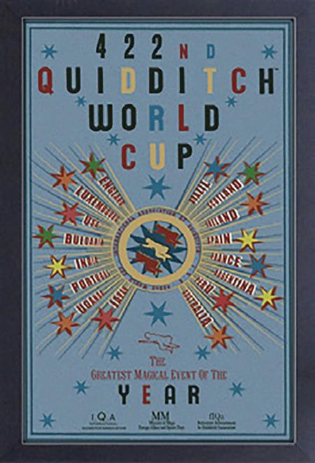 HARRY POTTER QUDDITCH WORLD CUP 11 X 17 FRAMED PRINT (C: 1-1