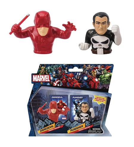 MARVEL HEROES DAREDEVIL VS PUNISHER FINGER FIGHTER (C: 1-1-2
