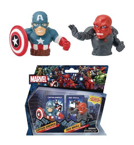 MARVEL HEROES CAPTAIN AMERICA VS RED SKULL FINGER FIGHTER (C