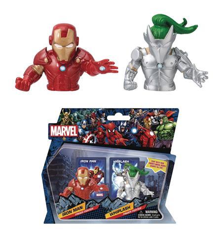 MARVEL HEROES IRON MAN VS WHIPLASH FINGER FIGHTER (C: 1-1-2)
