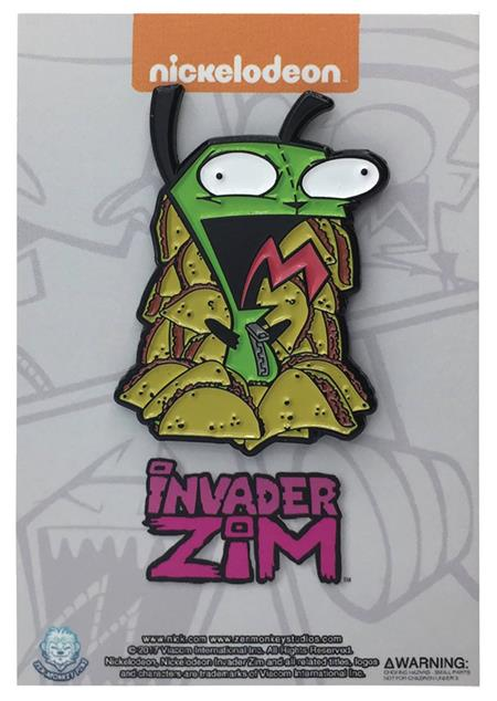 INVADER ZIM GIR TACO OVERLOAD PIN (C: 1-1-2)