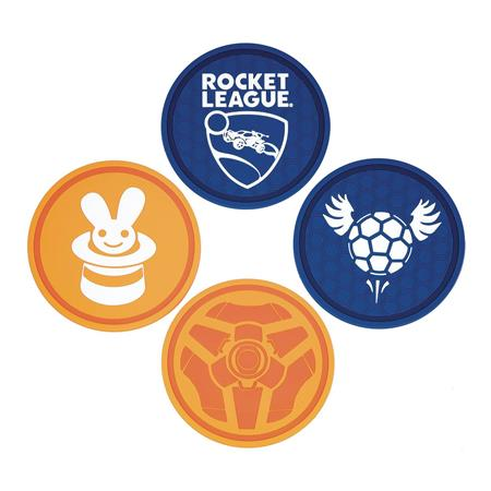ROCKET LEAGUE COASTER 4 PACK SET (C: 1-1-2)