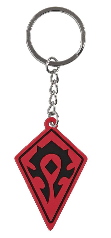 WOW BATTLE FOR AZEROTH HORDE KEYCHAIN (C: 1-1-2)