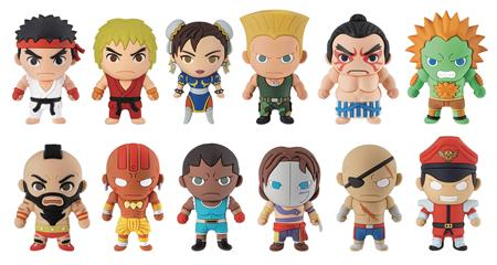 STREET FIGHTER 3D FIGURAL KEYRING 24PC BMB DIS (C: 1-1-2)