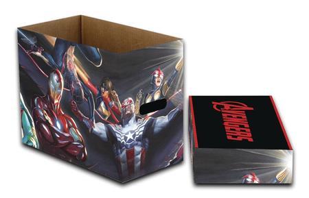 MARVEL ALL NEW AVENGERS 5PK SHORT COMIC STORAGE BOX (C: 1-1-