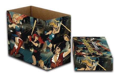 DC COMICS DC BOMBSHELLS 5 PK SHORT COMIC STORAGE BOX (C: 1-1
