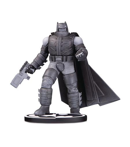 BATMAN BLACK & WHITE STATUE ARMORED BATMAN BY F MILLER
