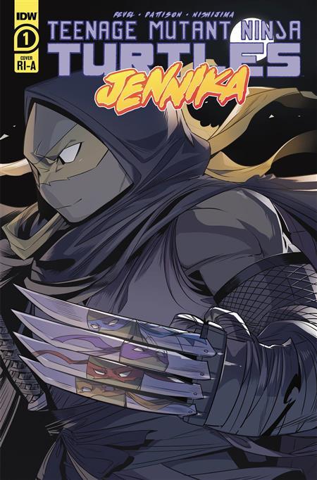 TMNT JENNIKA #1 (OF 3) 10 COPY INCV NISHIJIMA (Net) (C: 1-0-