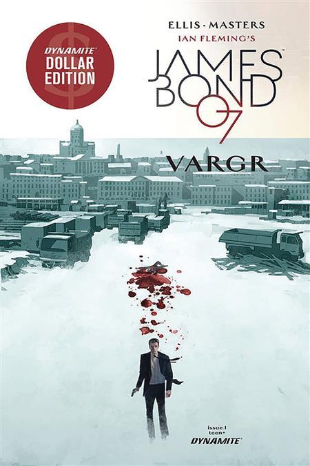 JAMES BOND VARGR #1 DOLLAR ED