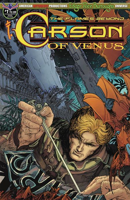 CARSON OF VENUS FLAMES BEYOND #1 LEGENDARY KALUTA CVR