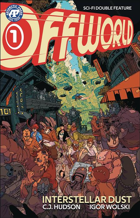 OFFWORLD SCI FI DOUBLE FEATURE #1 FIST FULL OF DOLARS PACK (