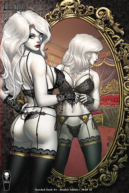 LADY DEATH SCORCHED EARTH #1 (OF 2) BOUDOIR ED (MR)