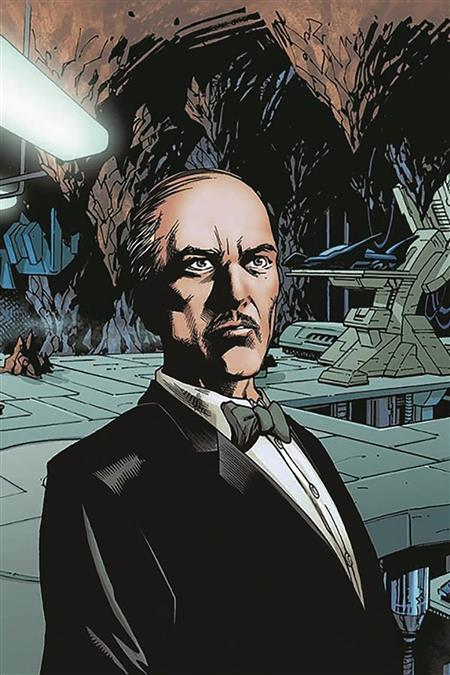 DF BATMAN PENNYWORTH #1 TOMASI SGN