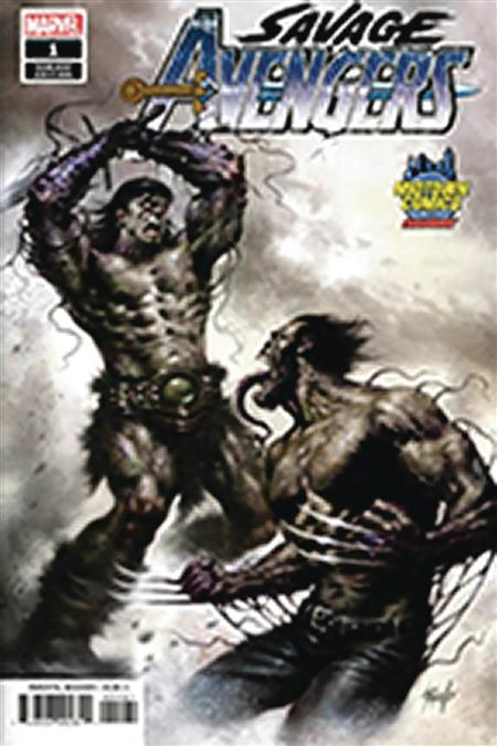 DF SAVAGE AVENGERS #1 MIDTOWN PARRILLO EXC