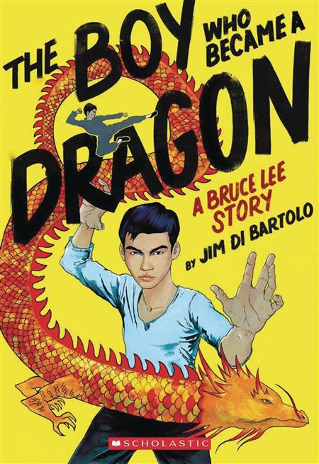 BOY WHO BECAME A DRAGON BRUCE LEE STORY SC GN (C: 0-1-0)