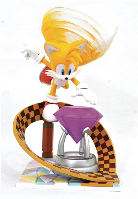 SONIC GALLERY TAILS PVC STATUE (C: 1-1-2)