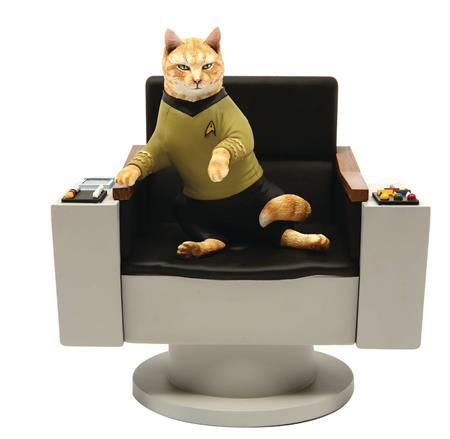 STAR TREK TOS CAPT KIRK CAT POLYSTONE STATUE (C: 1-1-2)