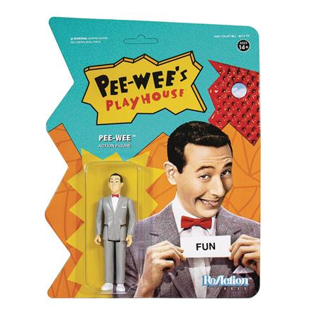 PEE WEES PLAYHOUSE PEE WEE REACTION FIGURE (Net) (C: 1-1-2)