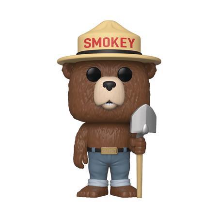 POP AD ICONS SMOKEY THE BEAR VIN FIGURE (C: 1-1-2)