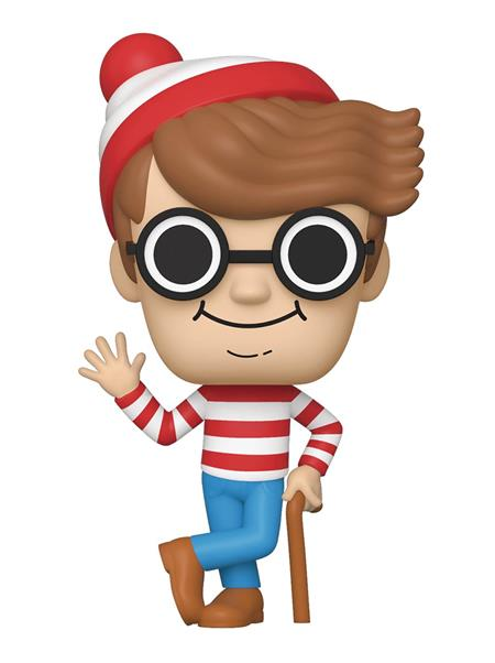 POP BOOKS WHERES WALDO VINYL FIG (C: 1-1-2)