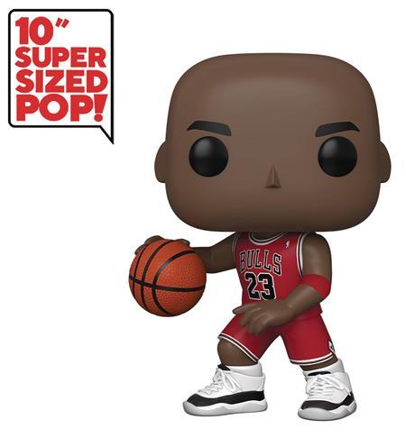 POP NBA BULLS MICHAEL JORDAN (RED JERSEY) 10IN FIG (C: 1-1-2