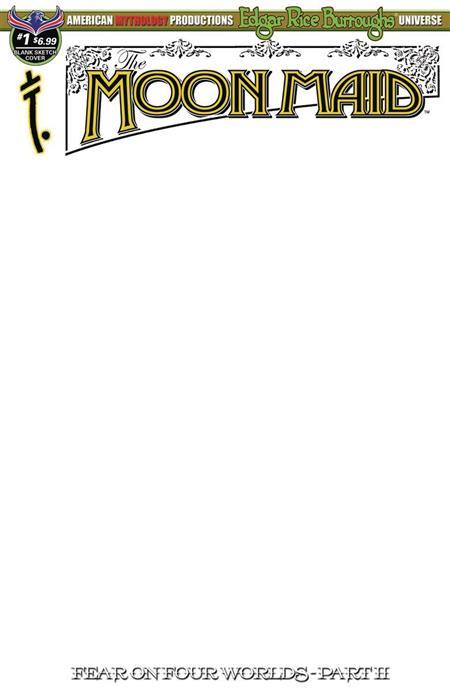 MOON MAID #1 BLANK SKETCH ED CVR