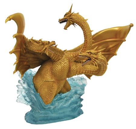 GODZILLA GALLERY 1991 KING GHIDORAH DLX PVC FIG (C: 1-1-2)