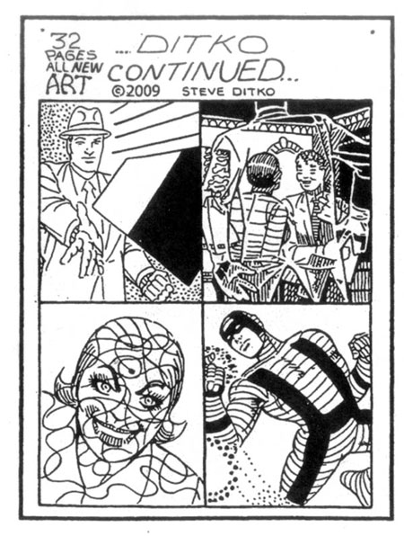 DITKO CONTINUED