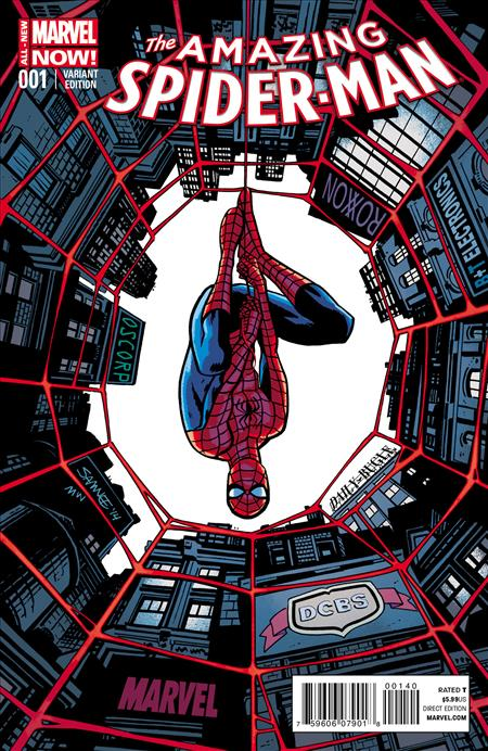 AMAZING SPIDER-MAN #1 DCBS exclusive by Chris Samnee *Special Discount*