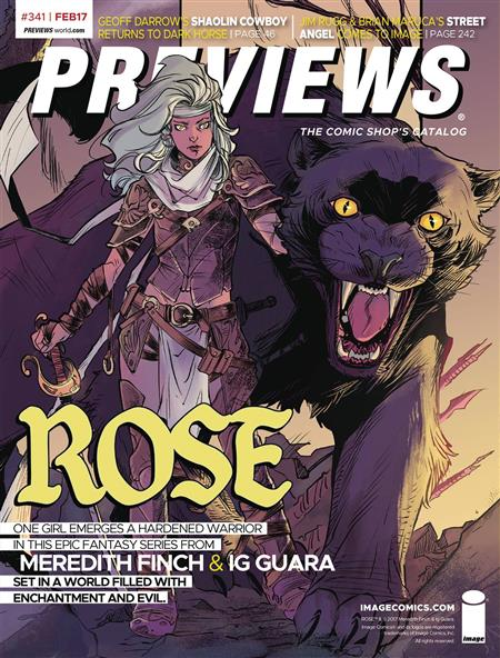 PREVIEWS #343 APRIL 2017  Includes a FREE Marvel Previews