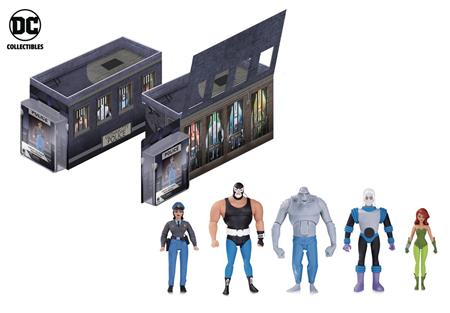 BATMAN ANIMATED GCPD ROGUES GALLERY AF 5 PACK