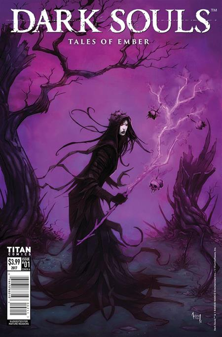 DARK SOULS TALES OF EMBER #1 (OF 2) CVR A WORM (MR)
