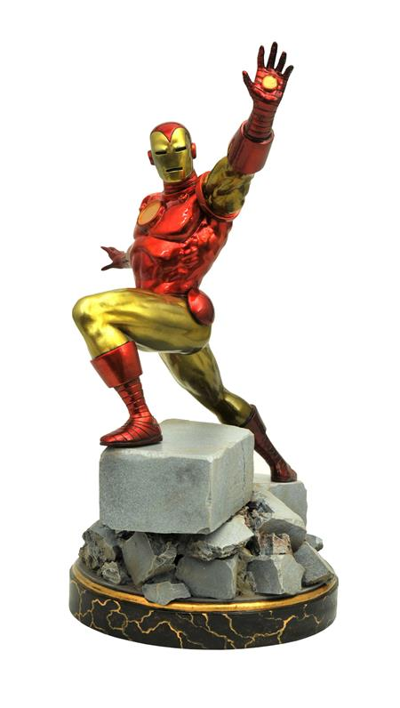 MARVEL PREMIER COLL CLASSIC IRON MAN STATUE (C: 1-1-2)