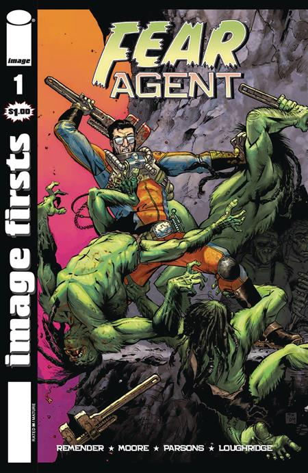 IMAGE FIRSTS FEAR AGENT #1 (MR)