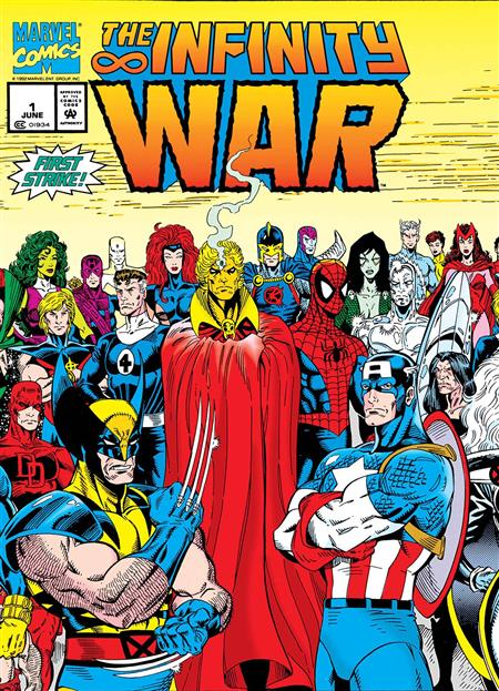 TRUE BELIEVERS INFINITY WAR #1