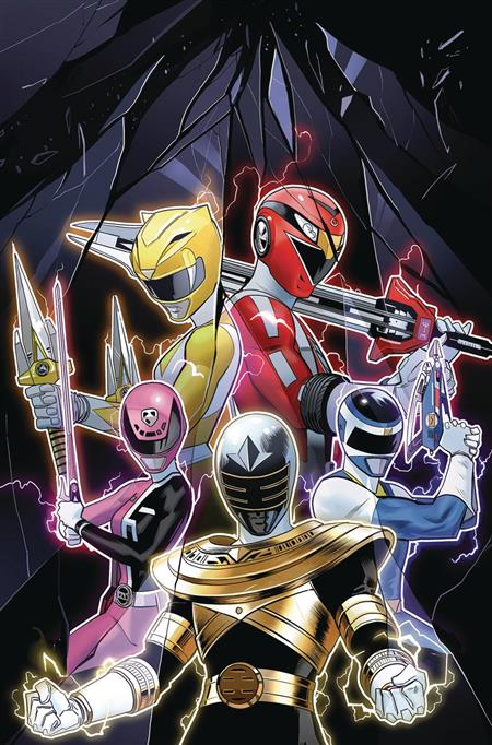 MIGHTY MORPHIN POWER RANGERS 2018 ANNUAL #1 (C: 1-0-0)