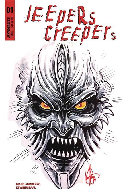 JEEPERS CREEPERS #1 KEN HAESER SKETCH ED (C: 0-1-2)